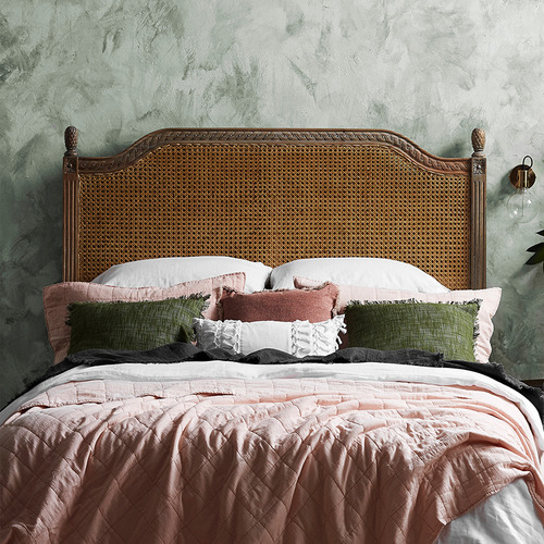 Carrington Furniture French Provincial Toulouse Rattan Headboard