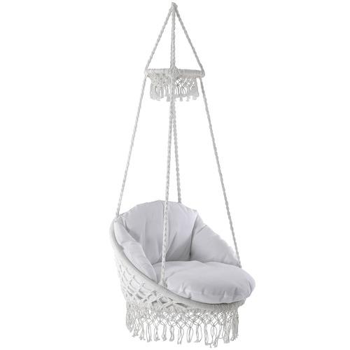 Vivere Hammocks Fringed Deluxe Macrame   Hammock Chair