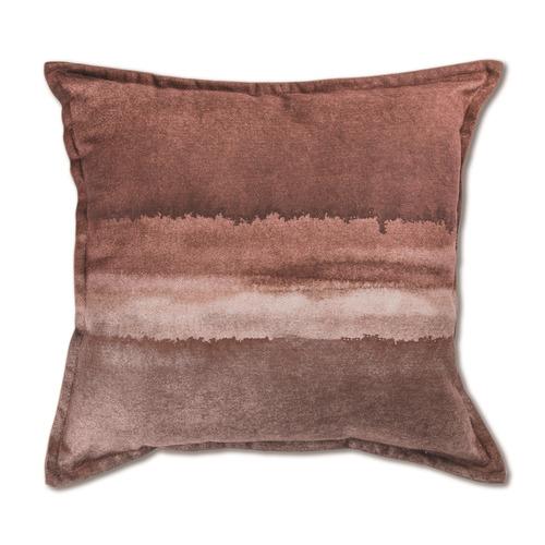 Madras Link Gradient Horizon Linen-Blend Cushion