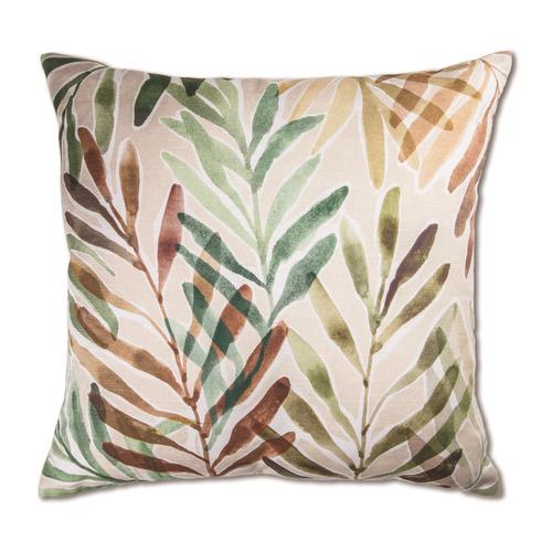 Madras Link Rust & Green Palm Springs Cushion