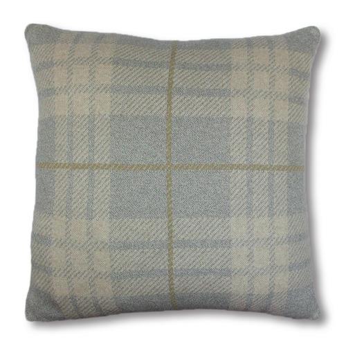 Madras Link Plaid Benson Cotton Cushion