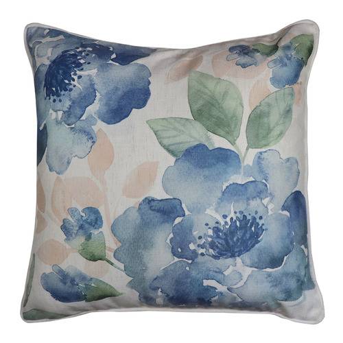 Madras Link Japandi Gardenia Linen-Blend Cushion
