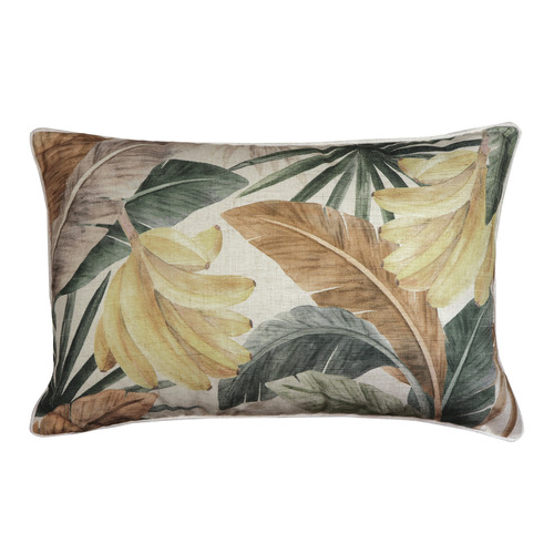 Madras Link Costa Rica Breakfast Linen-Blend Cushion
