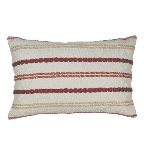 Stripe Nelson Stitched Breakfast Cushion