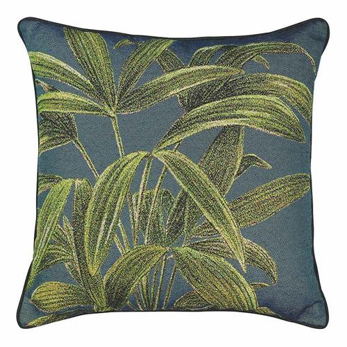Madras Link Jungle Jacquard Cushion