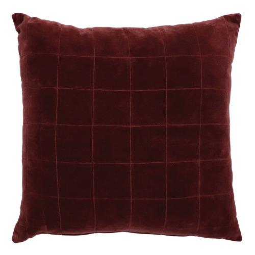 Madras Link Selby Cotton Velvet Cushion