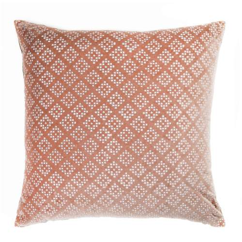 Madras Link Printed Kynteon Velvet Cushion