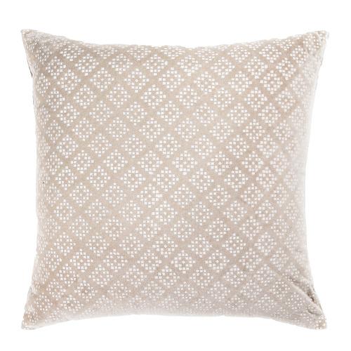 Madras Link Printed Kynteon Velvet Cushion