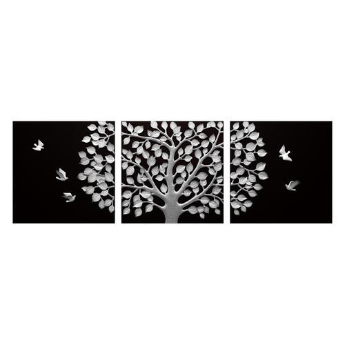 Newdecor 3 piece sandtree bs hdf 3d wall art set
