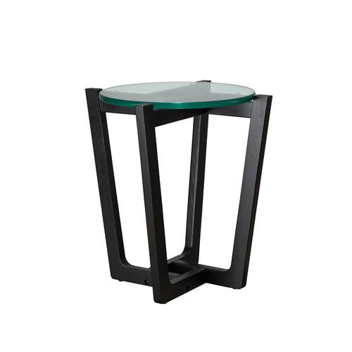 Estudio Furniture Monterey Black Leg Side Table