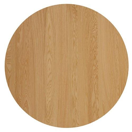 Oslo Round Oak Dining TableTempleWebster