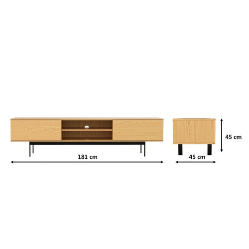 Estudio Furniture Sonoma 2 Door TV Stand