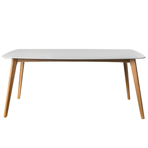 Large White Oslo Dining Table