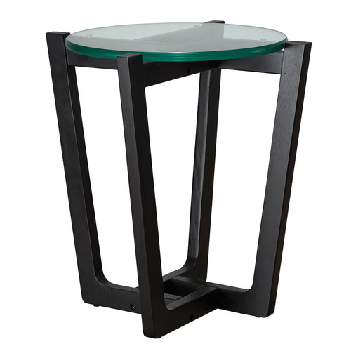 Estudio Furniture Monterey Black Leg Side Table