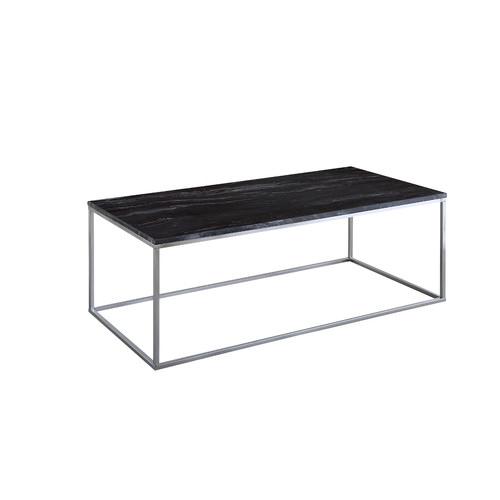 Estudio Furniture Vitro Black Marble Coffee Table