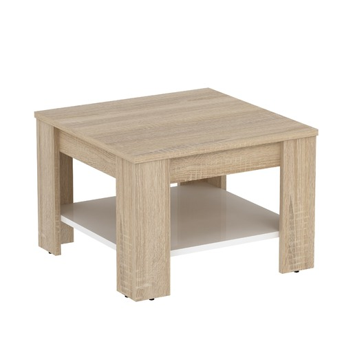 Estudio Furniture Light Oak & White Montreal Side Table
