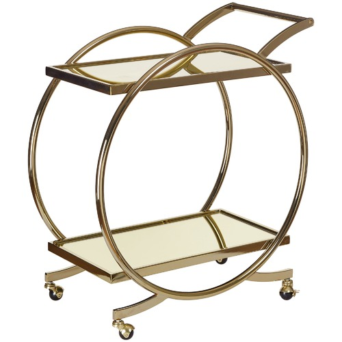 Gold Gatsby Bar Cart