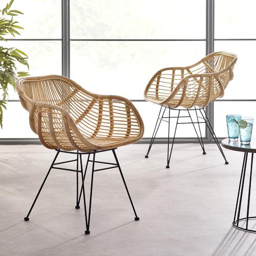 Estudio Furniture Kylie Rattan Dining Chairs
