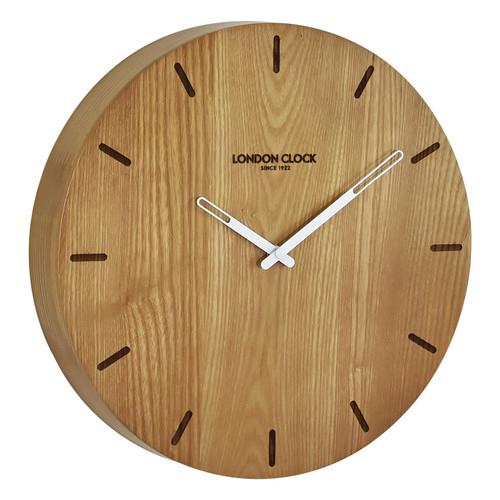 London Clock Company 33cm Elis Solid Wood Wall Clock