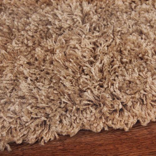 network rugs piccolo plain light beige shag rug