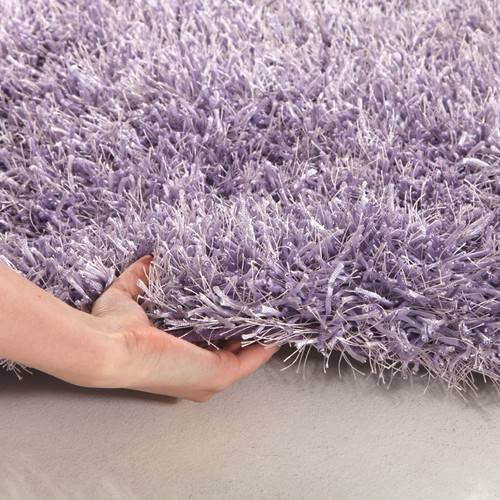 Network Rugs Lilac Shag Tufted Rug