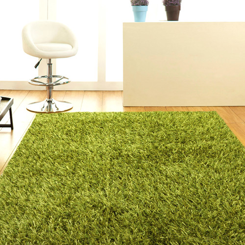 Network Rugs Lime Shag Tufted Rug
