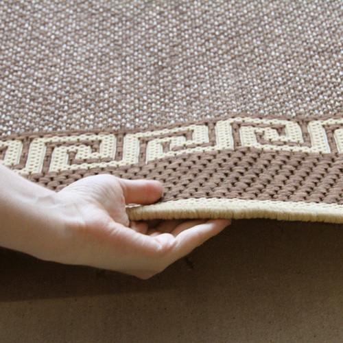 Network Rugs Indoor Outdoor Key Design Rug Brown