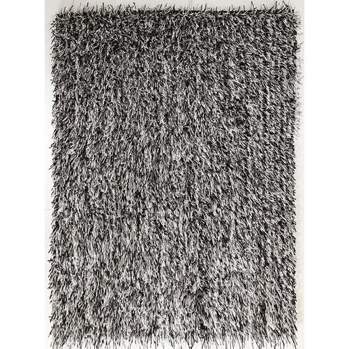 Network Rugs Black Shag Tufted Rug