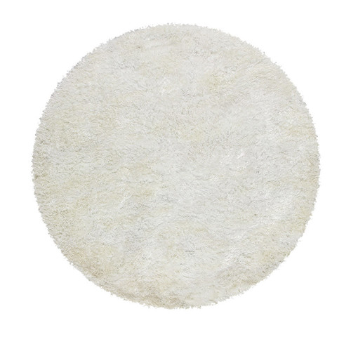 Deluxe Shag White Round Rug Temple Amp Webster