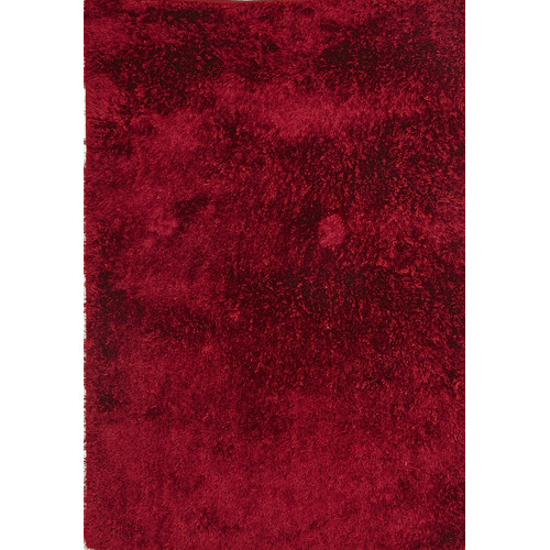 Network Plush Luxury Red Tufted Shag Rug & Reviews