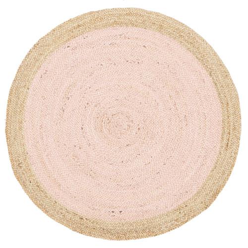 Network Jute Natural Pink Rug & Reviews