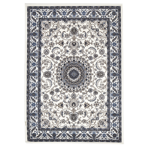 Network Rugs Classic Rug White With Border