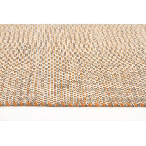 Network Rugs Alpine Rust Pure Wool Scandinavian Style Flatweave Rug