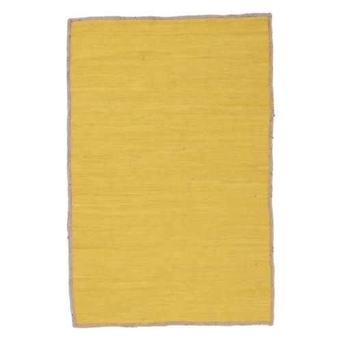 Network Rugs Card Jasmine Hand Braided Yellow Rug