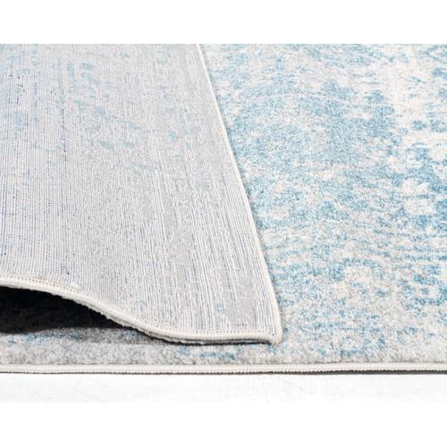 Network Rugs Bone, White & Blue Art Moderne Cezanne Rug
