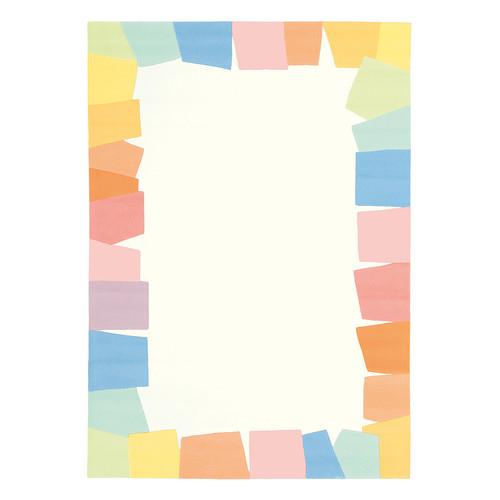 Joy Pastal Border Pastel Rug Temple Amp Webster