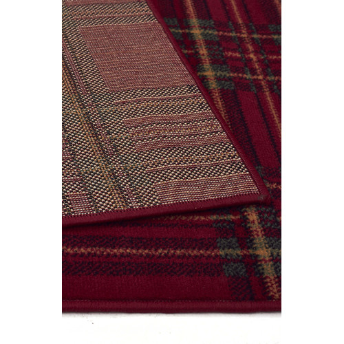 Network Rugs Red BCF Rug