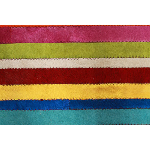 Network Rugs Marta Rainbow Spanish Cowhide Rug