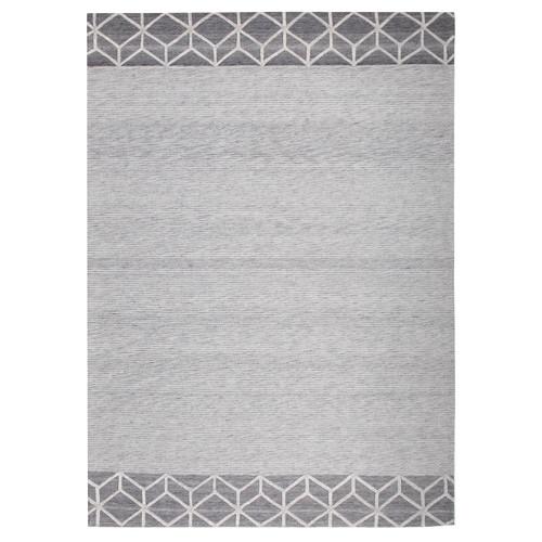 Lewis Jacquard Wool & Viscose Modern Rug