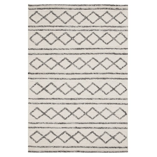 black block weave whblk ft area dhurrie accent rug cot print cotton lrgrug woven k flat x white