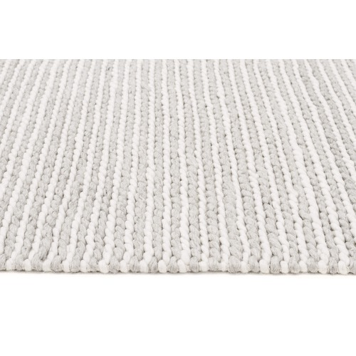 Sana Grey Hand Woven Flatweave Wool Amp Viscose Rug Temple