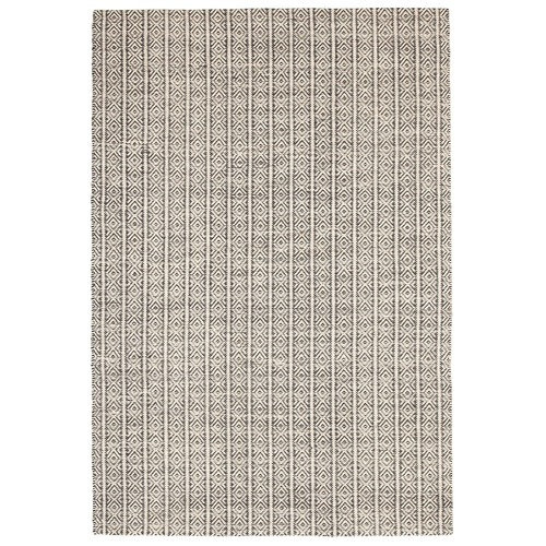Network Rugs Bryant Natural & Black Hand Loomed Rug