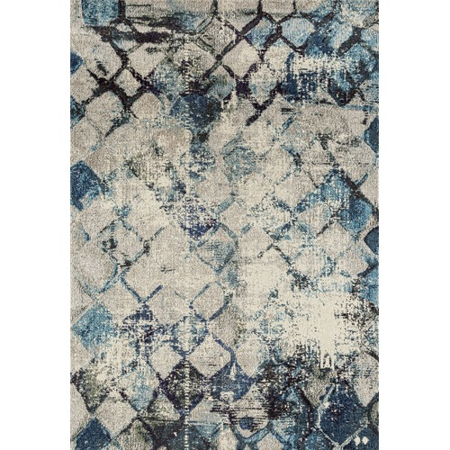 Network Johnnie Blue Durable Modern Rug Amp Reviews Temple