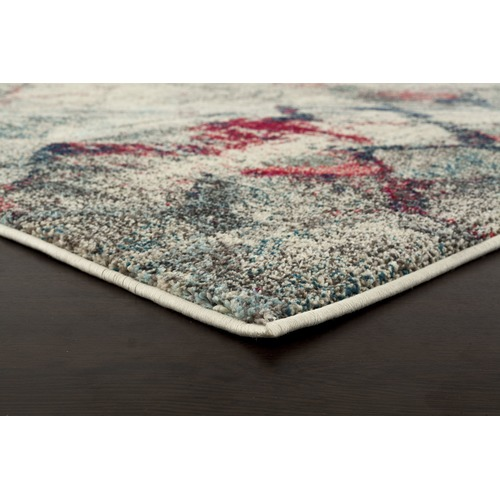 johnnie blue grey pink durable modern rug temple. Black Bedroom Furniture Sets. Home Design Ideas