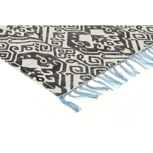 Network Rugs Pearl Hand Loomed Flatweave Pure Cotton Rug