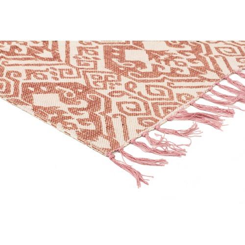 Network Rugs Jorge Hand Loomed Flatweave Pure Cotton Rug