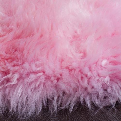 Network Rugs Light Pink Sheepskin Rug