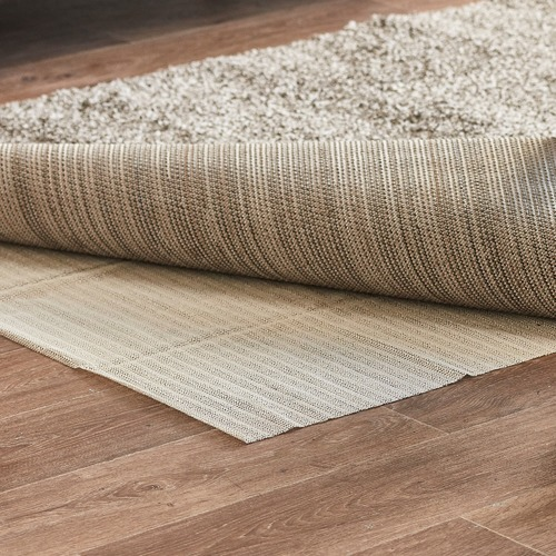 Network Rug Pad For Wooden Tiled, Rug Pad For Laminate Flooring