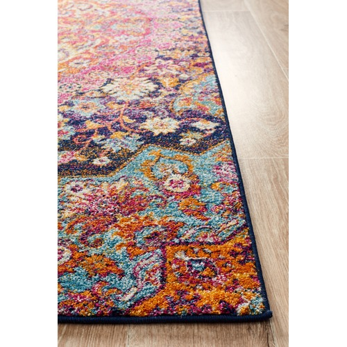 Network Rugs Multi Coloured Levent Jilla Runner
