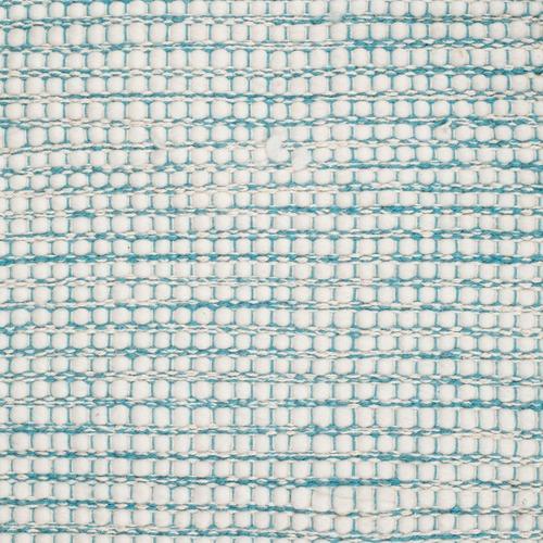 Network Rugs Blue & White Felted Wool Scandi Rug